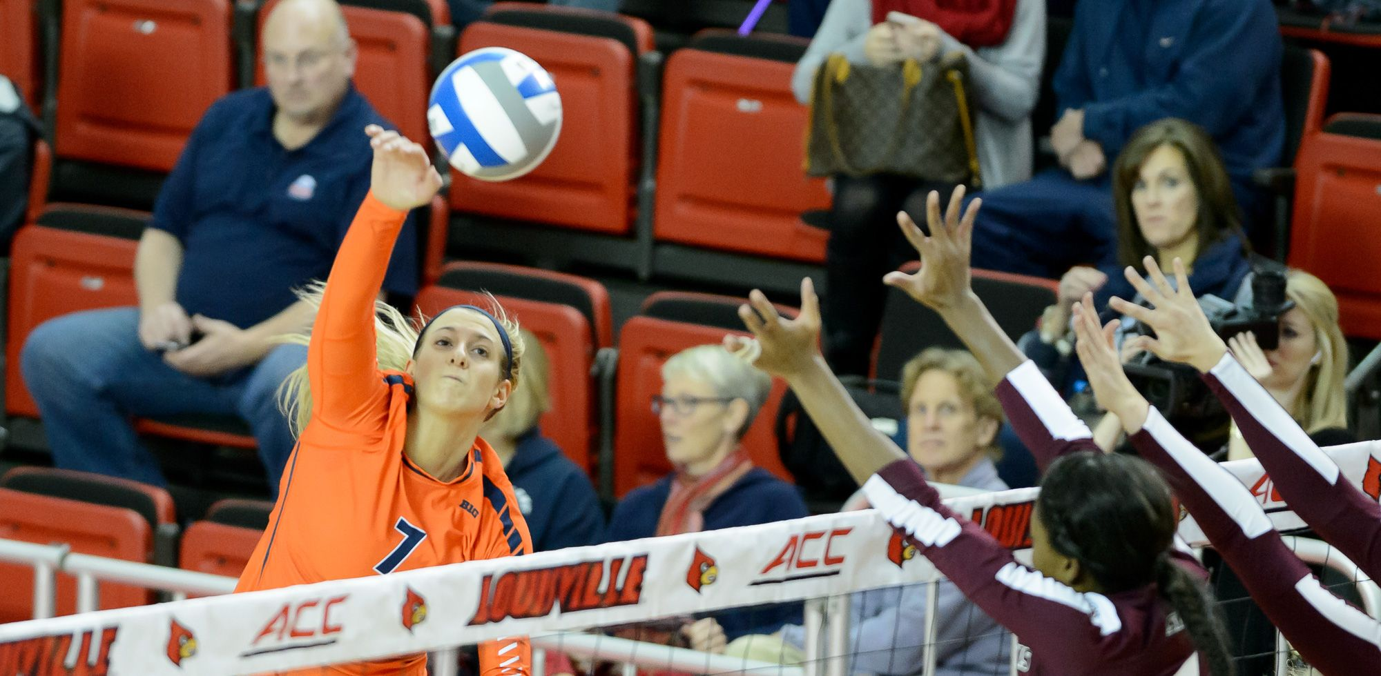 Birks Collects Third Career Avca All Northeast Region Accolade University Of Illinois Athletics University Of Illinois Athletics Female Volleyball Players Professional Volleyball Players