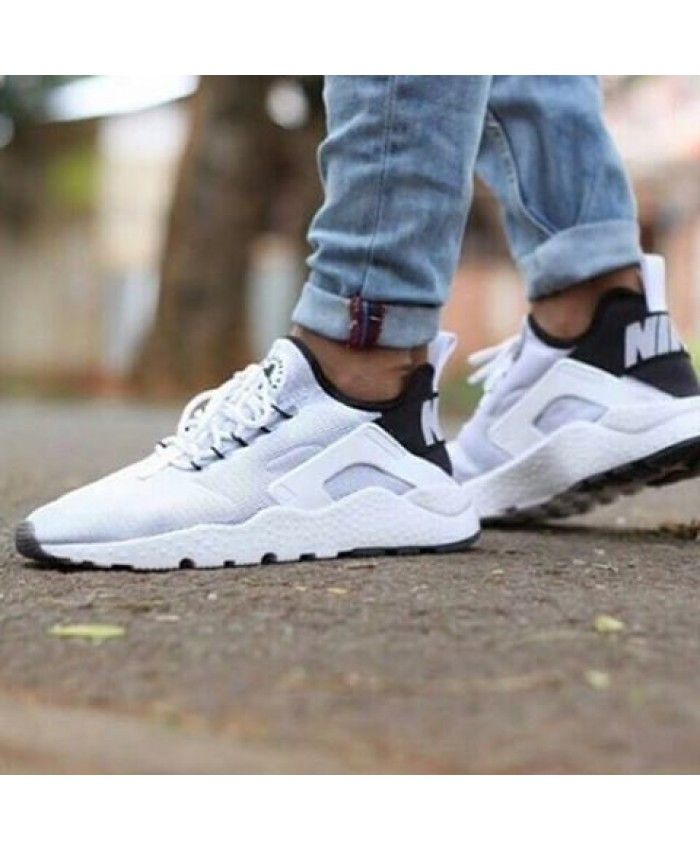 51a1bb598e81 Nike Air Huarache Ultra Breathe White Black Trainer