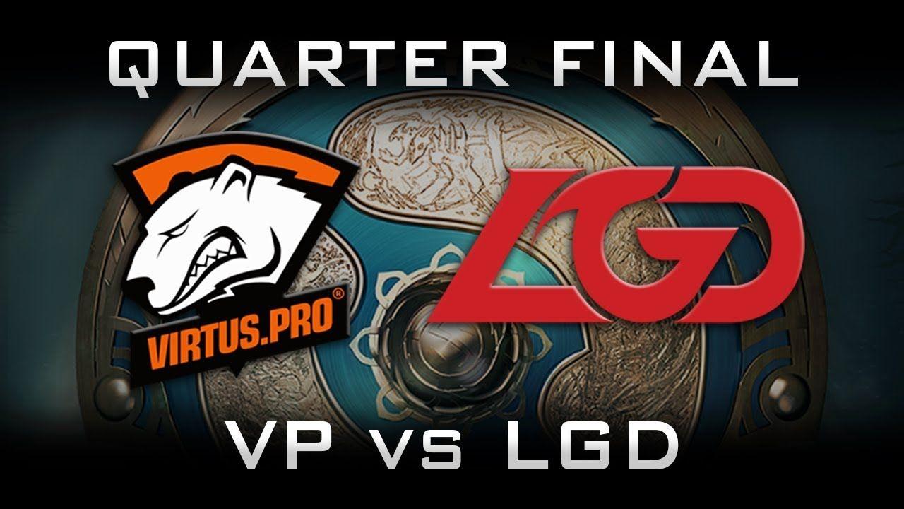 VP vs LGD TI7 Quarter Final Highlights The International 2017 Dota 2
