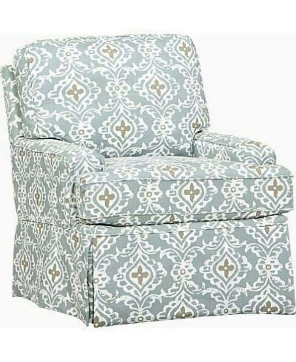 Haverty Swivel Chair. Love The Pattern U0026 Colors.