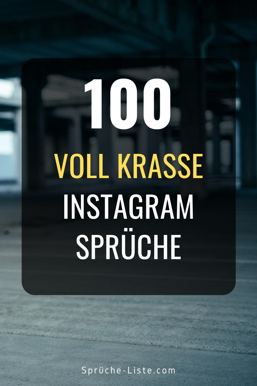 100 Voll krasse Instagram Sprüche in 2020 | Instagram
