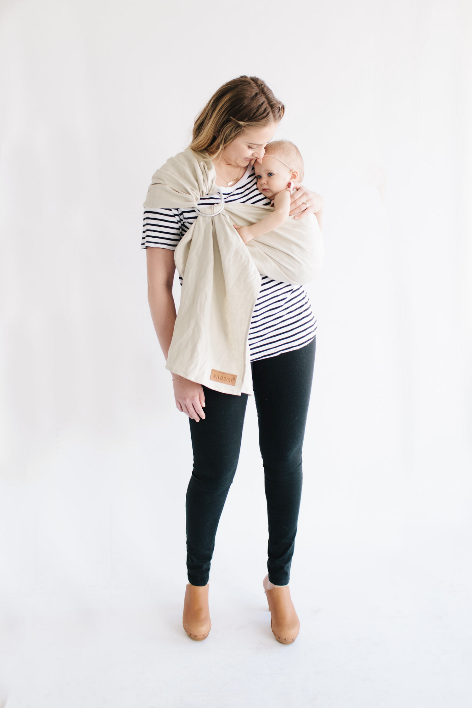 Pouch Portland Grey Nursing Cover Gender Neutral Carrier Baby Shower Gift Baby Slings by ION /& MAY Soft and Breathable Baby Carrier Natural Collection 100/% Bamboo fibers Cuddle Wrap