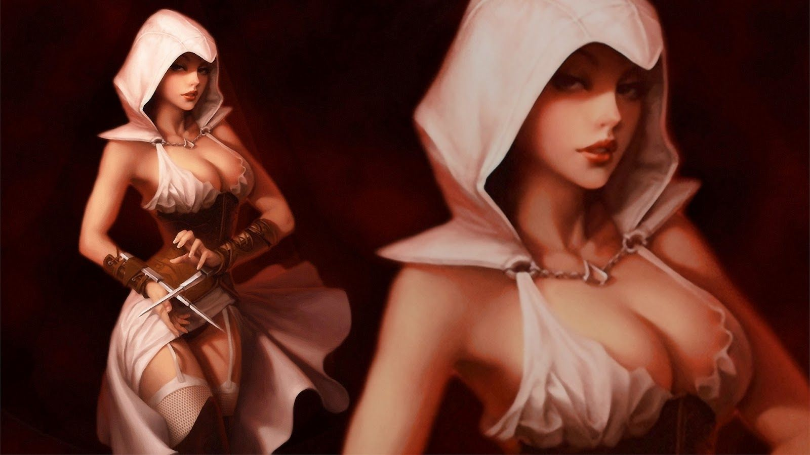 Assassin s creed women naked sexy picture