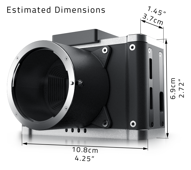 AXIOM Beta: The first open source digital cinema camera  4K