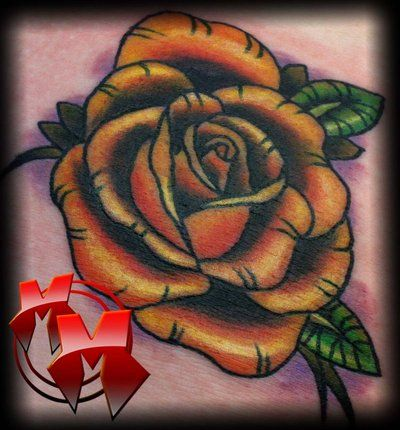Tattoo Yellow Roses Neo Traditional Neo Trad Yellow Rose By Mattiemacabre On Deviantart Yellow Roses Rainbow Roses Rose