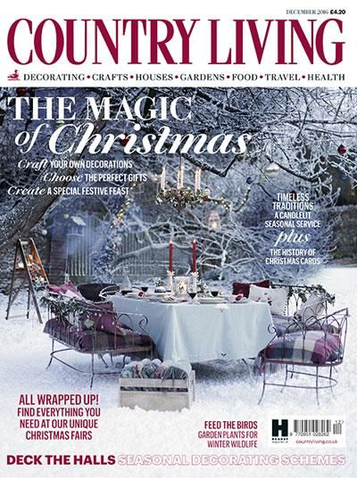 Country Living December 2016 Country Living Uk Country Living Magazine Country Living