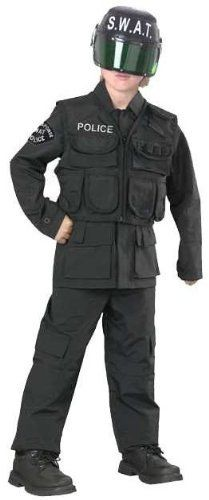 Kids Swat Team Police Costume Fun World Costumes 48 99 With