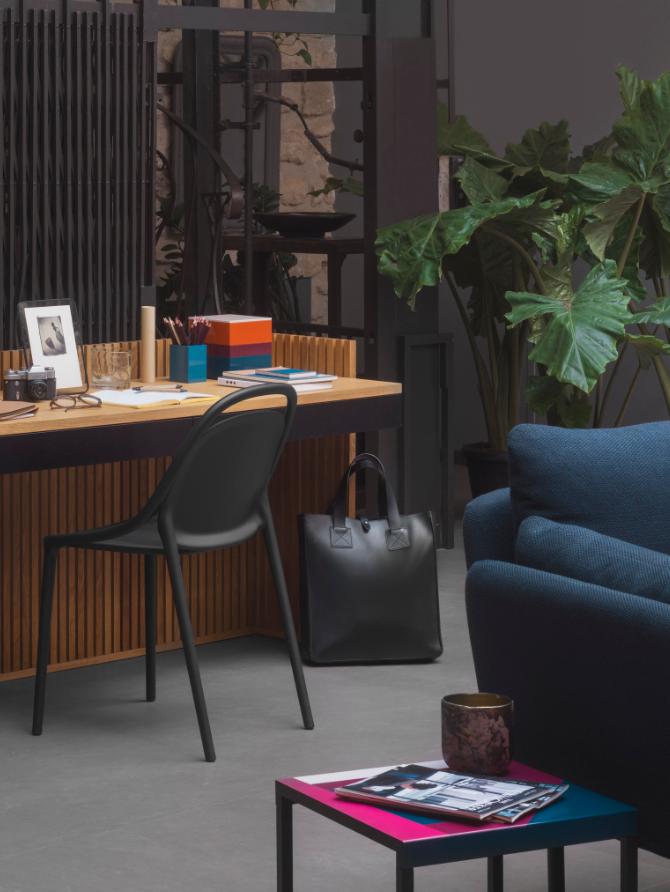 Myrra Bureau En Chene 120 Cm Habitat Studio De Design Chene