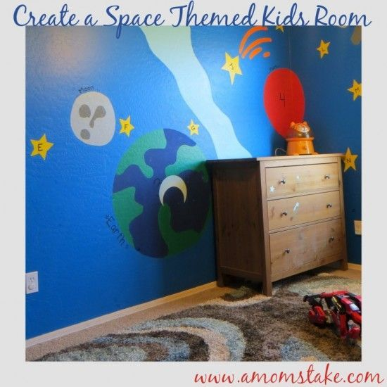 22 Space Themed Room Design Ideas For A New Atmosphere In Your Home Space Themed Room Space Themed Bedroom Room Themes