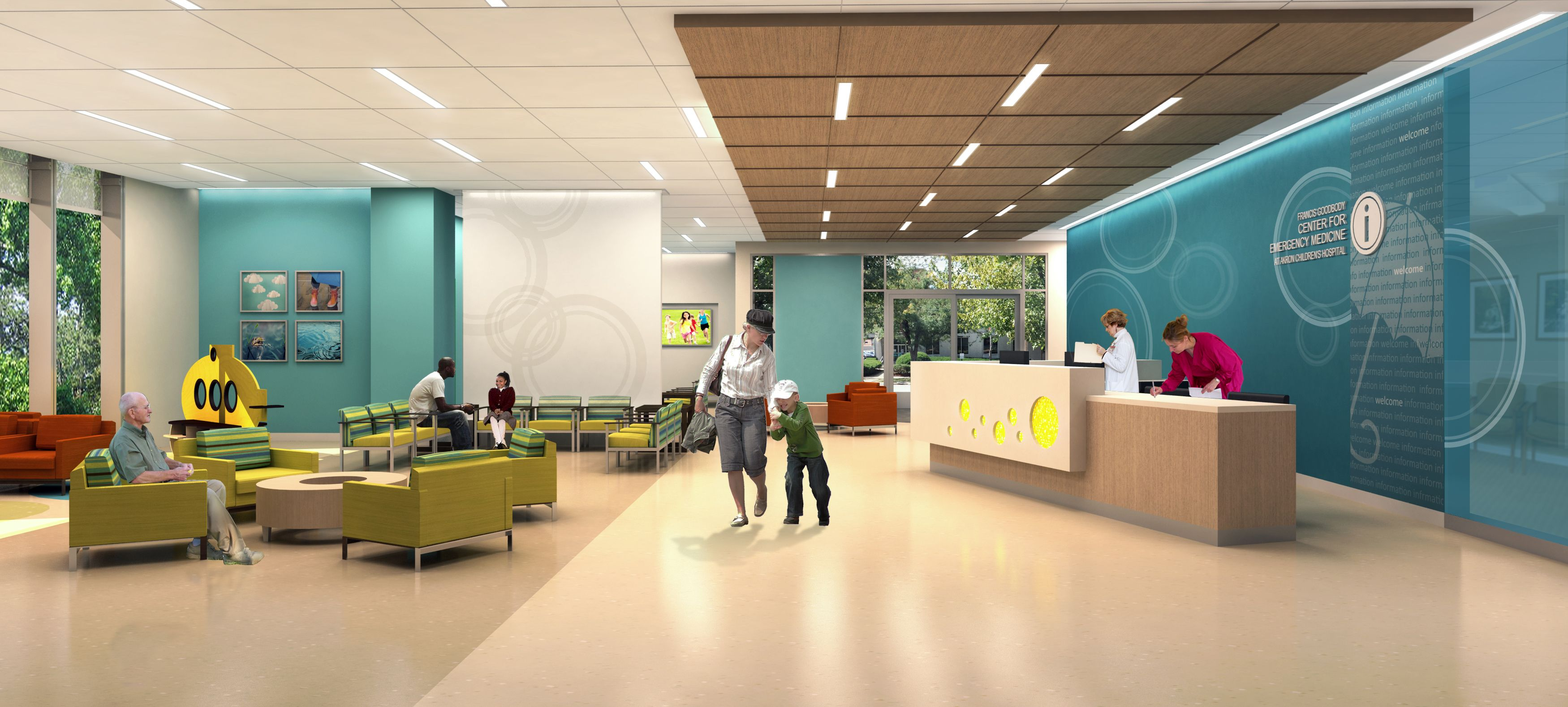 interactive corporate lobby design Google Search Environments