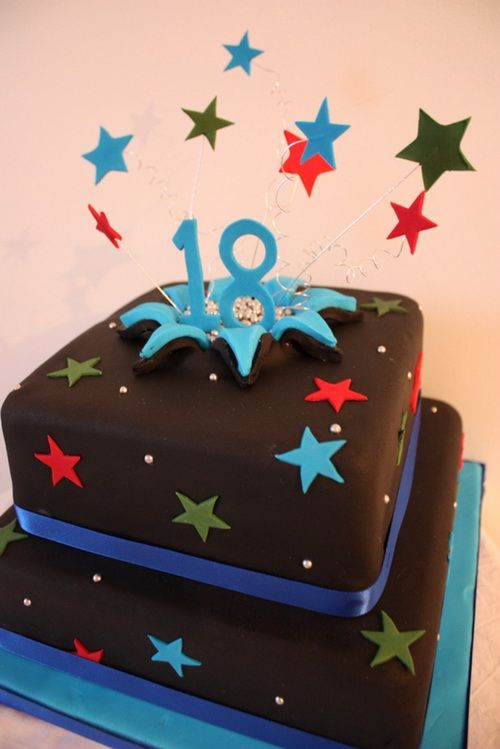 Groovy 18Th Birthday Cake Ideas With Images 18Th Birthday Cake Boys Personalised Birthday Cards Cominlily Jamesorg