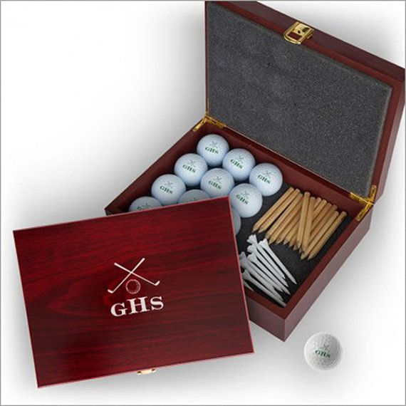 Personalized Golf Balls with Personalized Case - Monogram 663161c908370