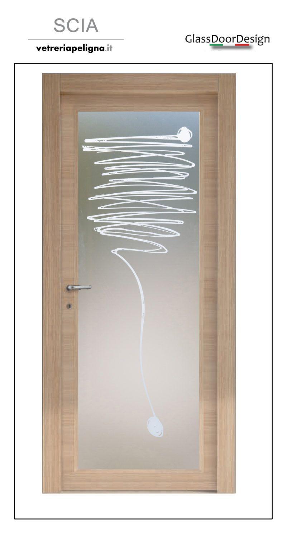Vetro per porte interne: Scopri il catalogo delle vetrate sabbiate ...