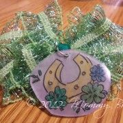 Plugging my own site here. My girls made St. Patrick's Day Charms with shrinkable plastic!