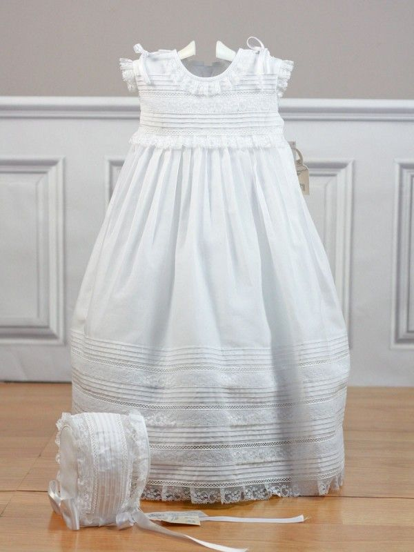 9a7851d44 Faldón con capota batista blanco 2450 Belan - Ropa de bebés - Les bébés