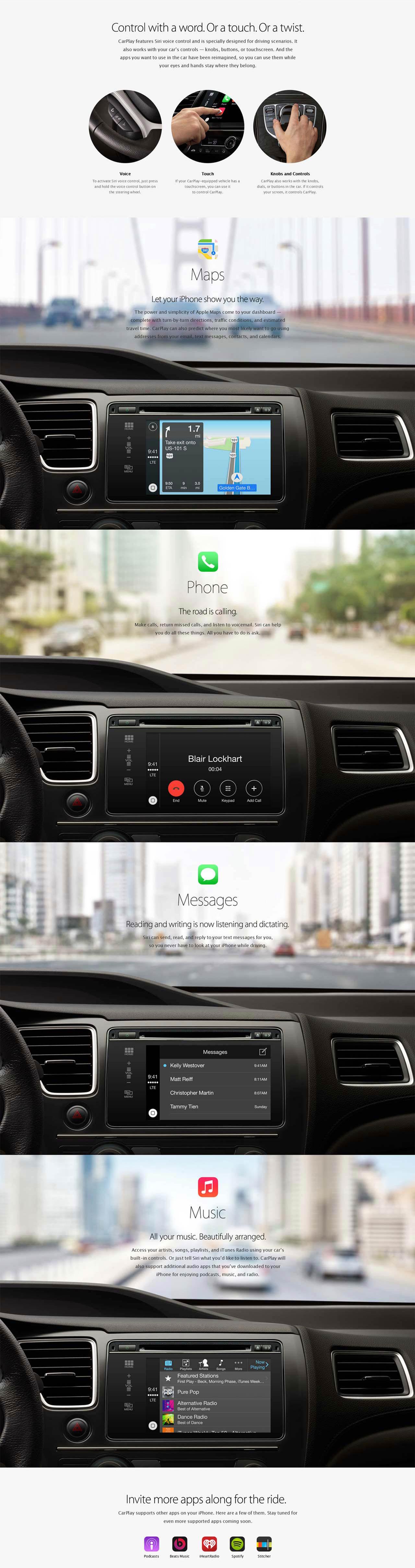 Apple Carplay Connected Car Car Electronics Apple Car Play Carplay Digital Dashboard