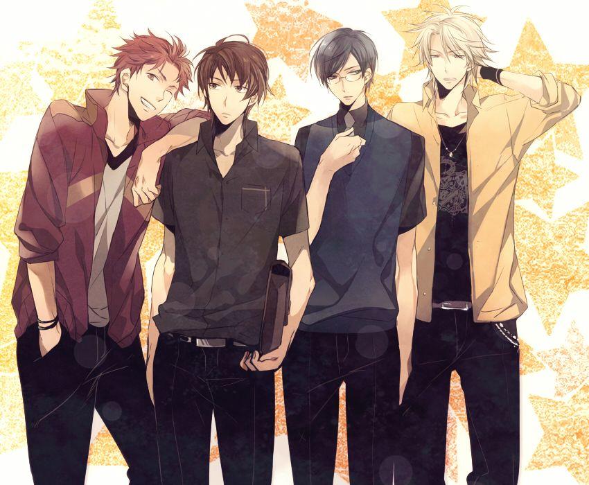 anime illustration Hot anime guys, Anime guys, Cute