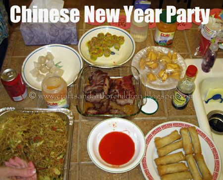 Chinese New Year Party & Crafts for Kids   Party crafts, Crafts ...