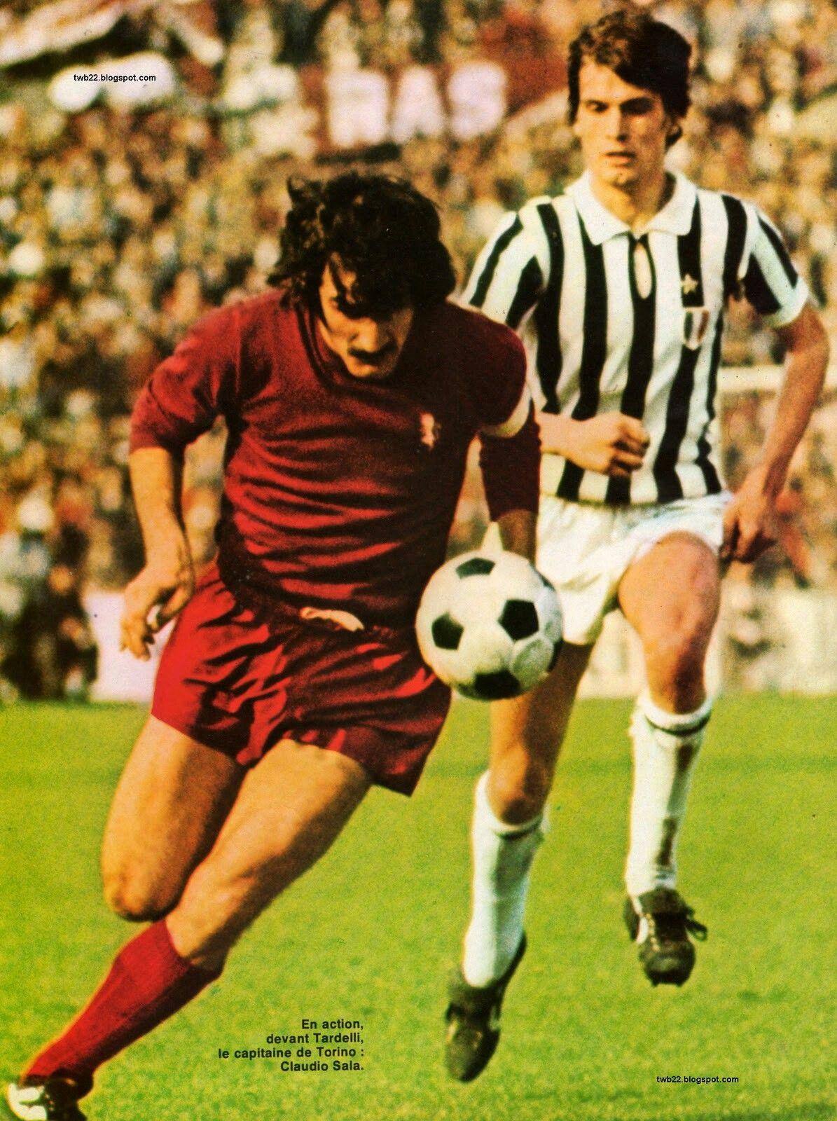 Torino 2 Juventus 0 in Dec 1975 at Stadio unale Claudio Sala