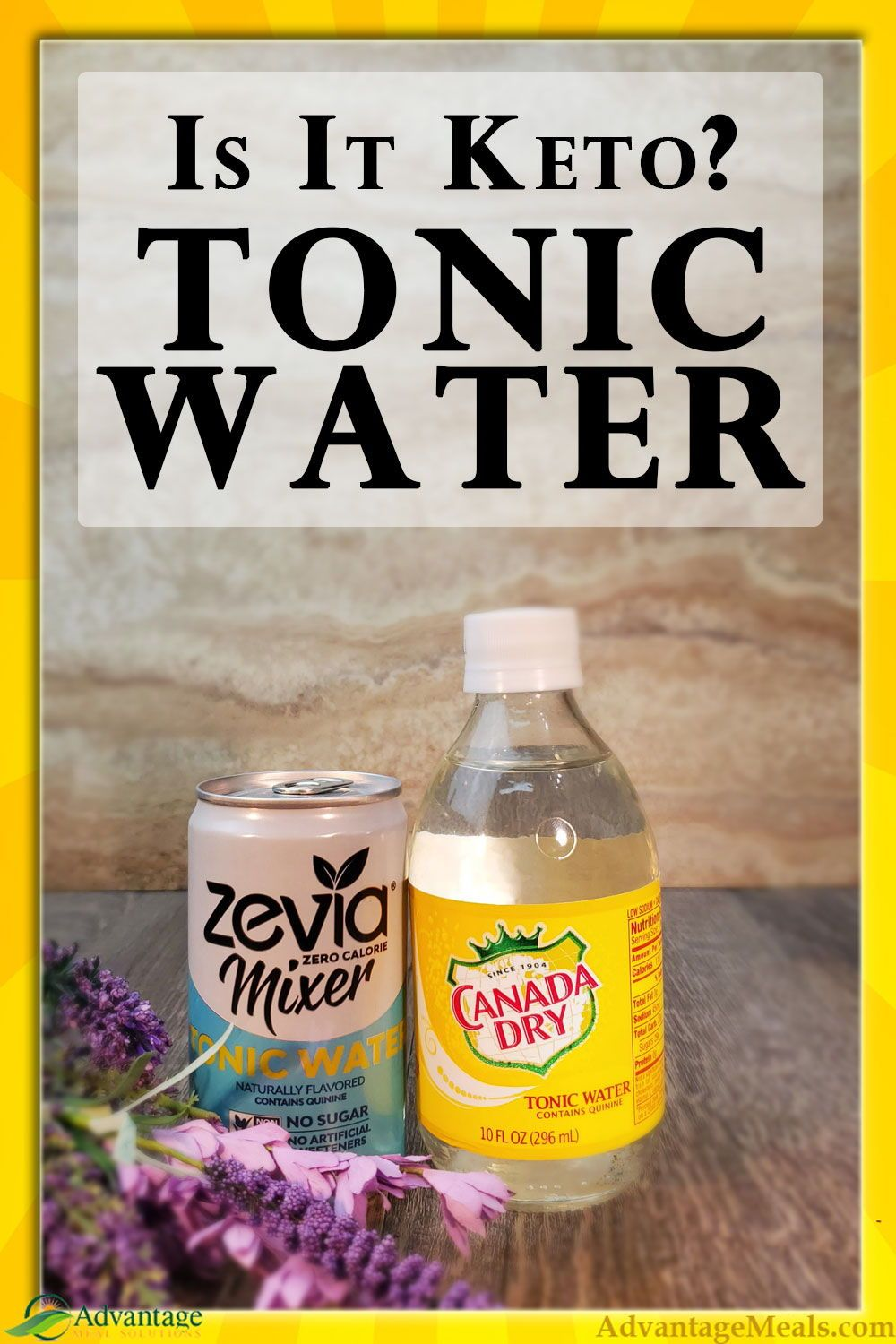 Is It Keto Low Carb Cocktails Tonic Water Diet Tonic Water