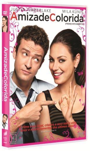 Amizade Colorida Mundo Pink Dvd Filme Amizade Colorida