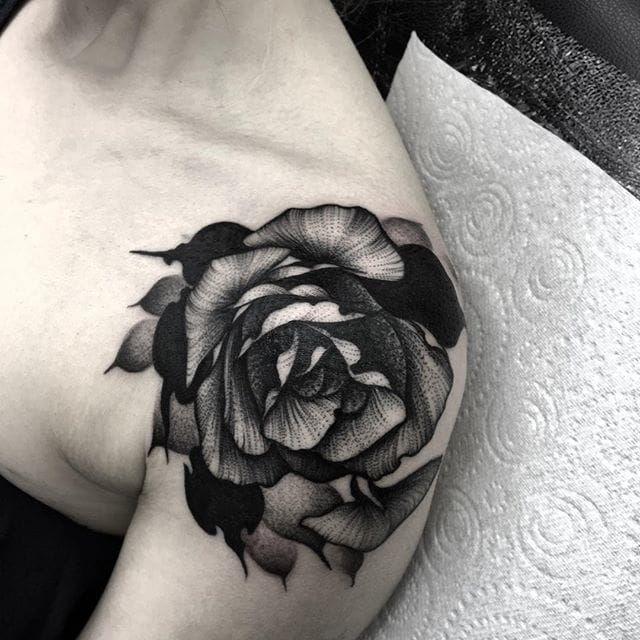 19ab7b32a58bf Magnificent Black Work Tattoos By Kelly Violet | Tattoodo | TATS ...