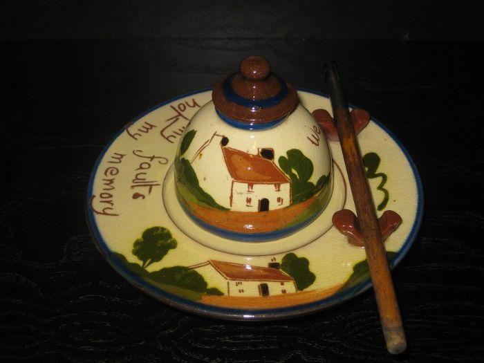 Watcombe Pottery Writing Set