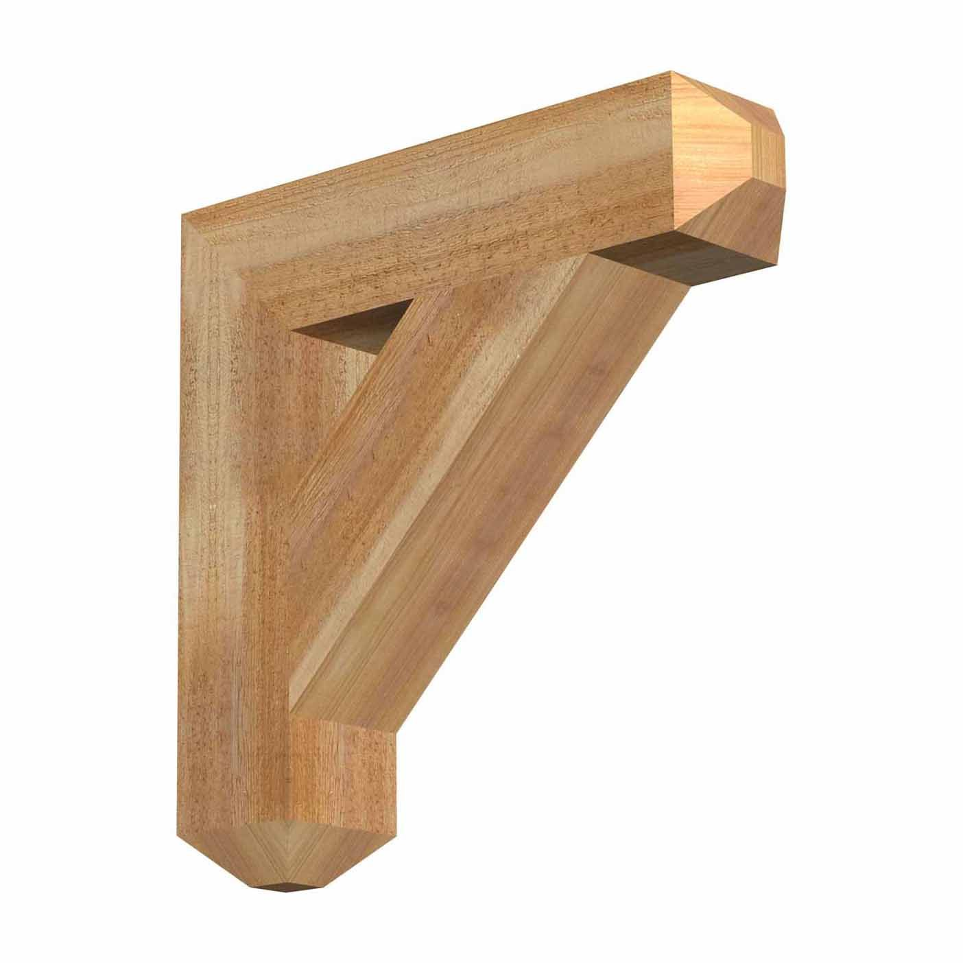 Our Rustic Timber Wood Brackets are made out of solid timber (not ...