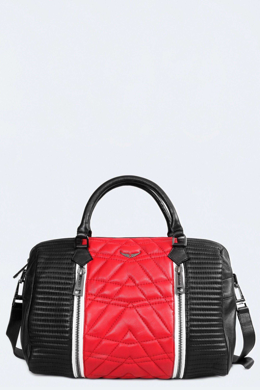 e228bccece Sac Sunny Matelasse, noir rouge, Zadig & Voltaire | Accessoires en ...