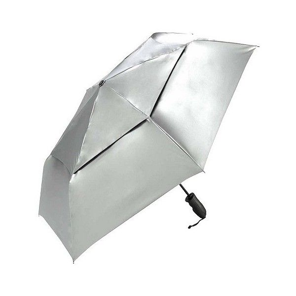 ShedRain Windjammer Compact Auto Open/Close Vented  Umbrellas (£21) ❤ liked on Polyvore featuring accessories, umbrellas, umbrella, shedrain umbrella, shedrain and uv protection umbrella