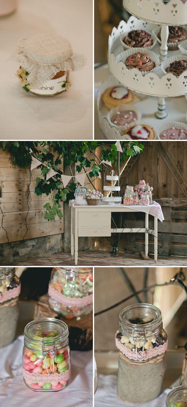 Hochzeit auf dem bauernhof von lene photography wedding cupcake