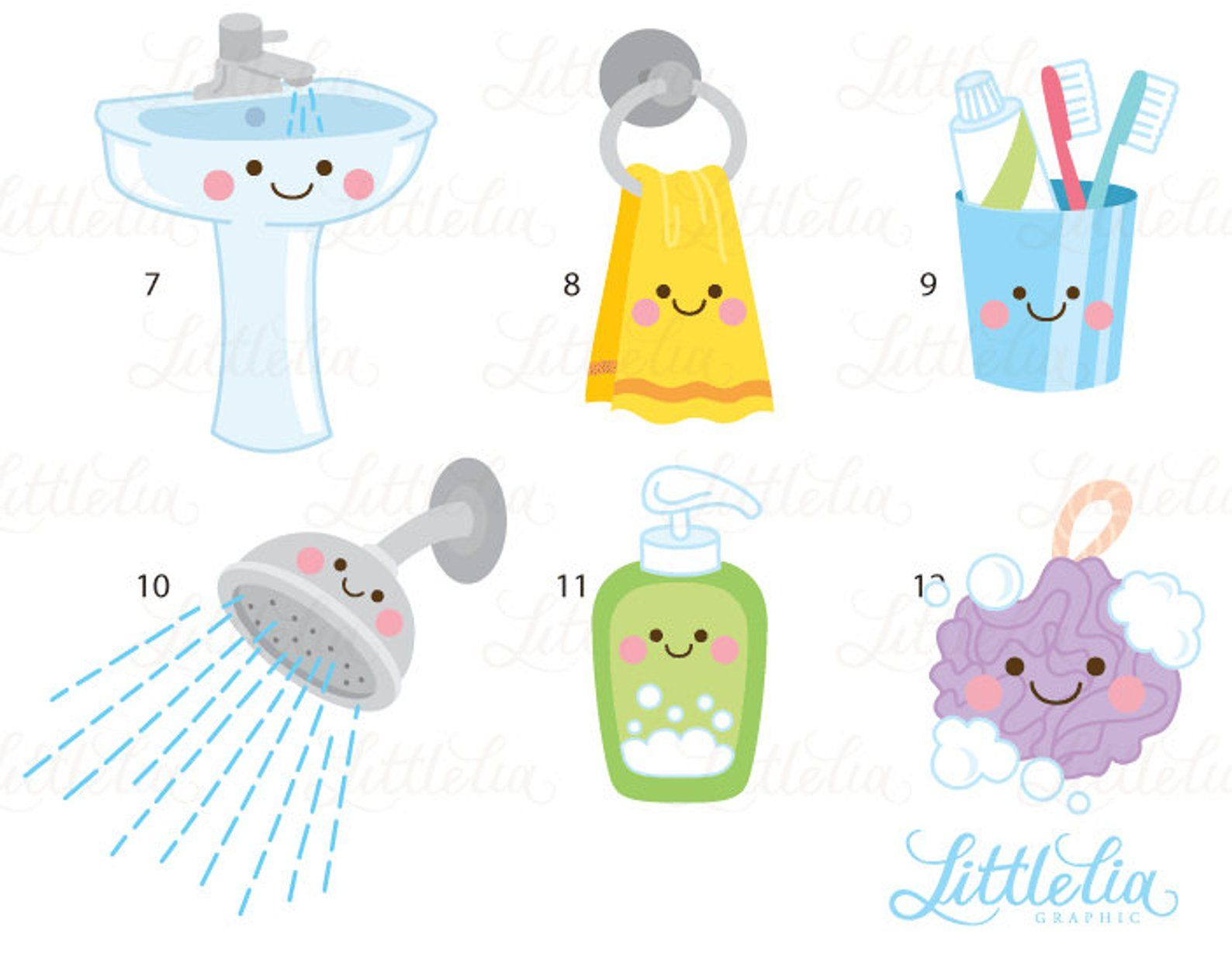 Bathroom Kawaii Clipart Bathroom Clipart 17049 Clip Art Kawaii