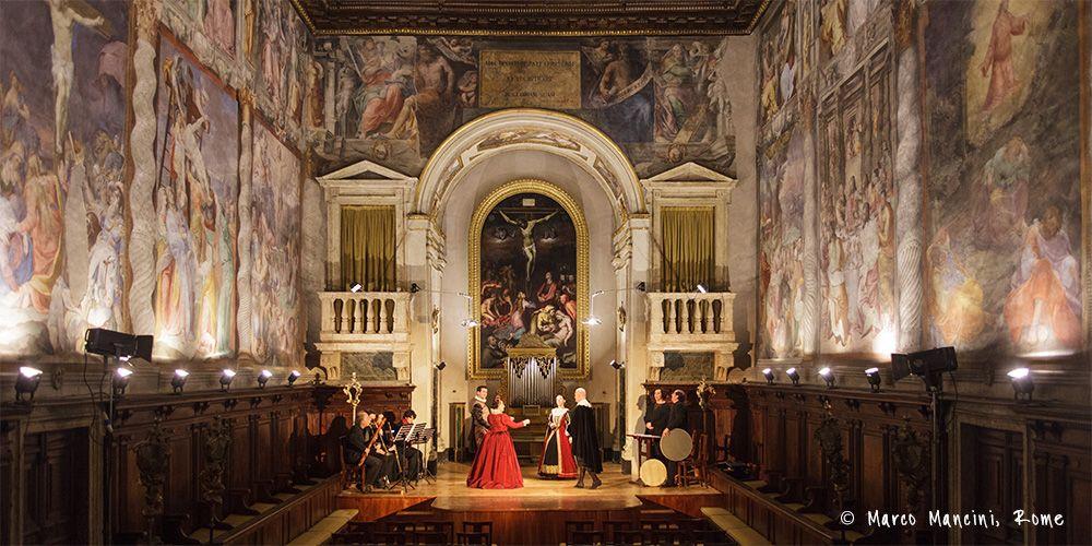 Oratorio del gonfalone roma italia pinterest rome italia and churches - Gonfalone mobili roma ...