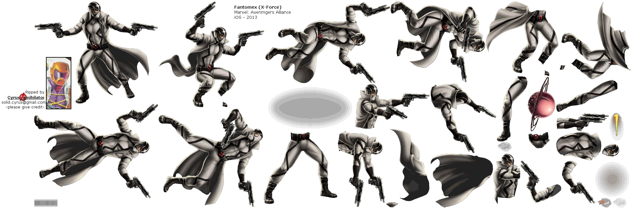 Fantomex - WIP Thread - Marvel: Avengers Alliance Message ...
