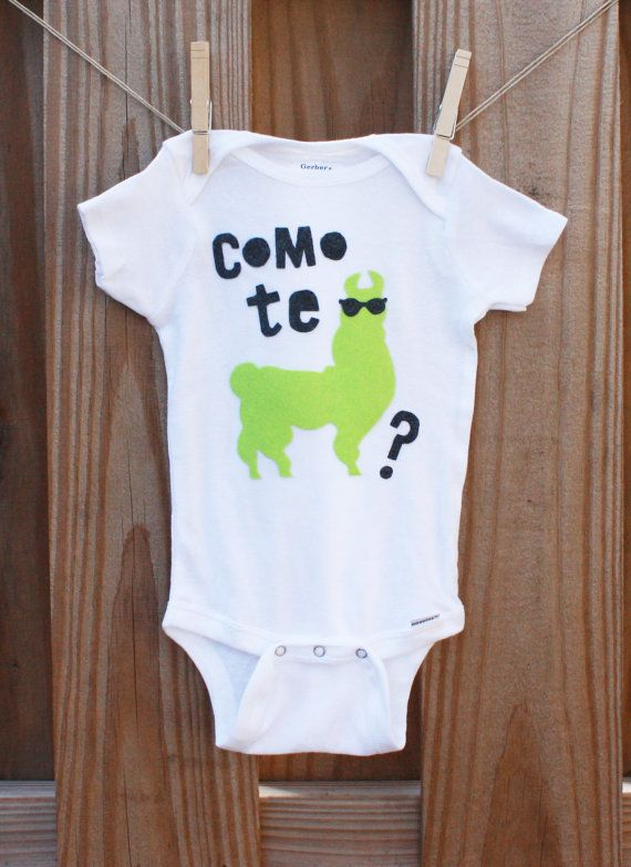 Spanish Humor Spanish Baby Clothes Funny Baby