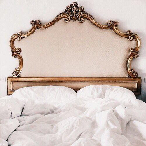 Golden headboard   Beds   Pinterest   Dormitorio, Fornituras y ...