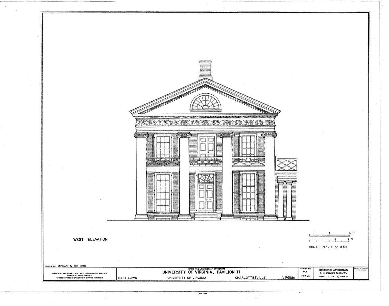 University Of Virginia Designed By Thomas Jefferson Thomas Jefferson Monticello And The U Of