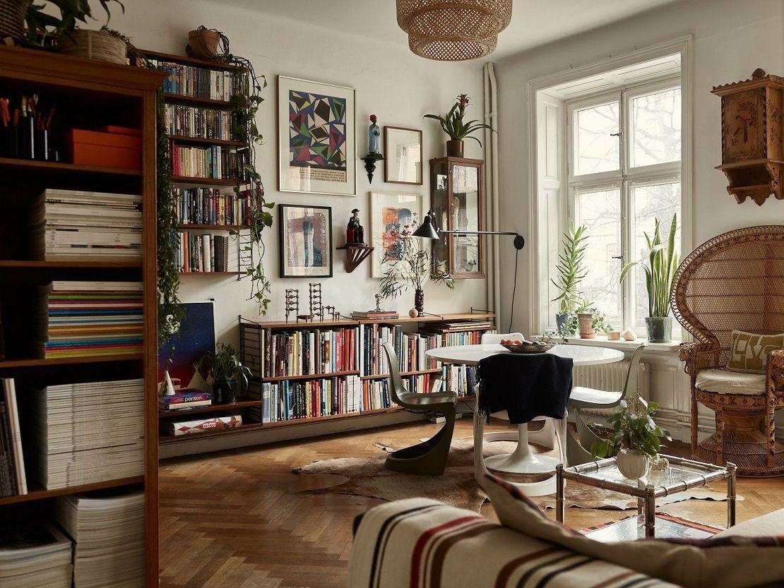 Vintage Home Decor Ideas In 2020 Bohemian Apartment Vintage Apartment Eclectic Home