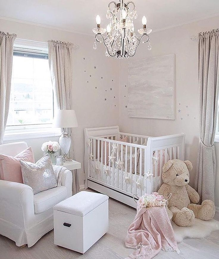 19 Adorable Ideas For Decorating Small Nursery: 21 Beautiful Baby Girl Nursery Room Ideas