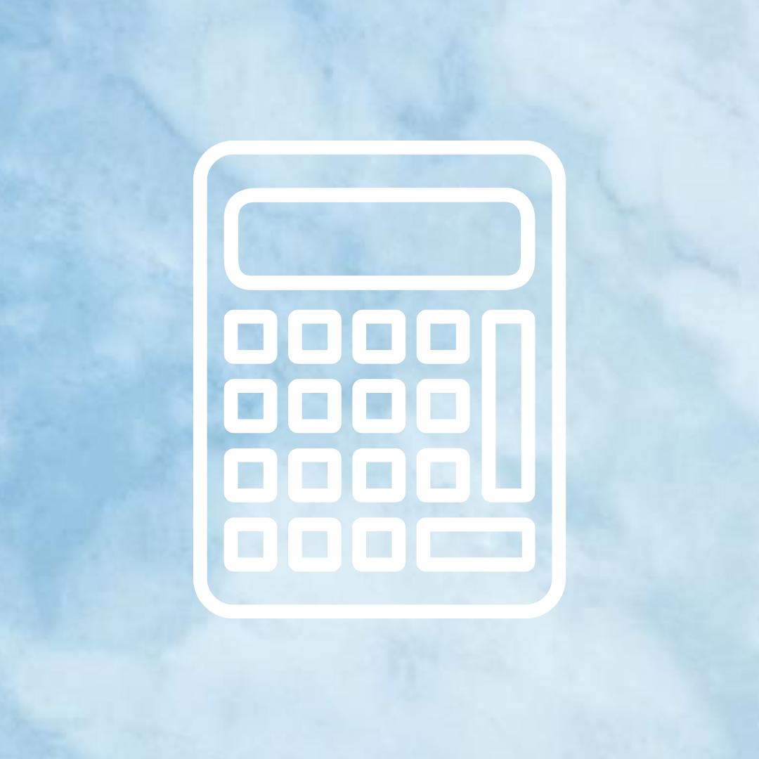 Baby Blue Cloud Calculator | App background, Iphone photo ...