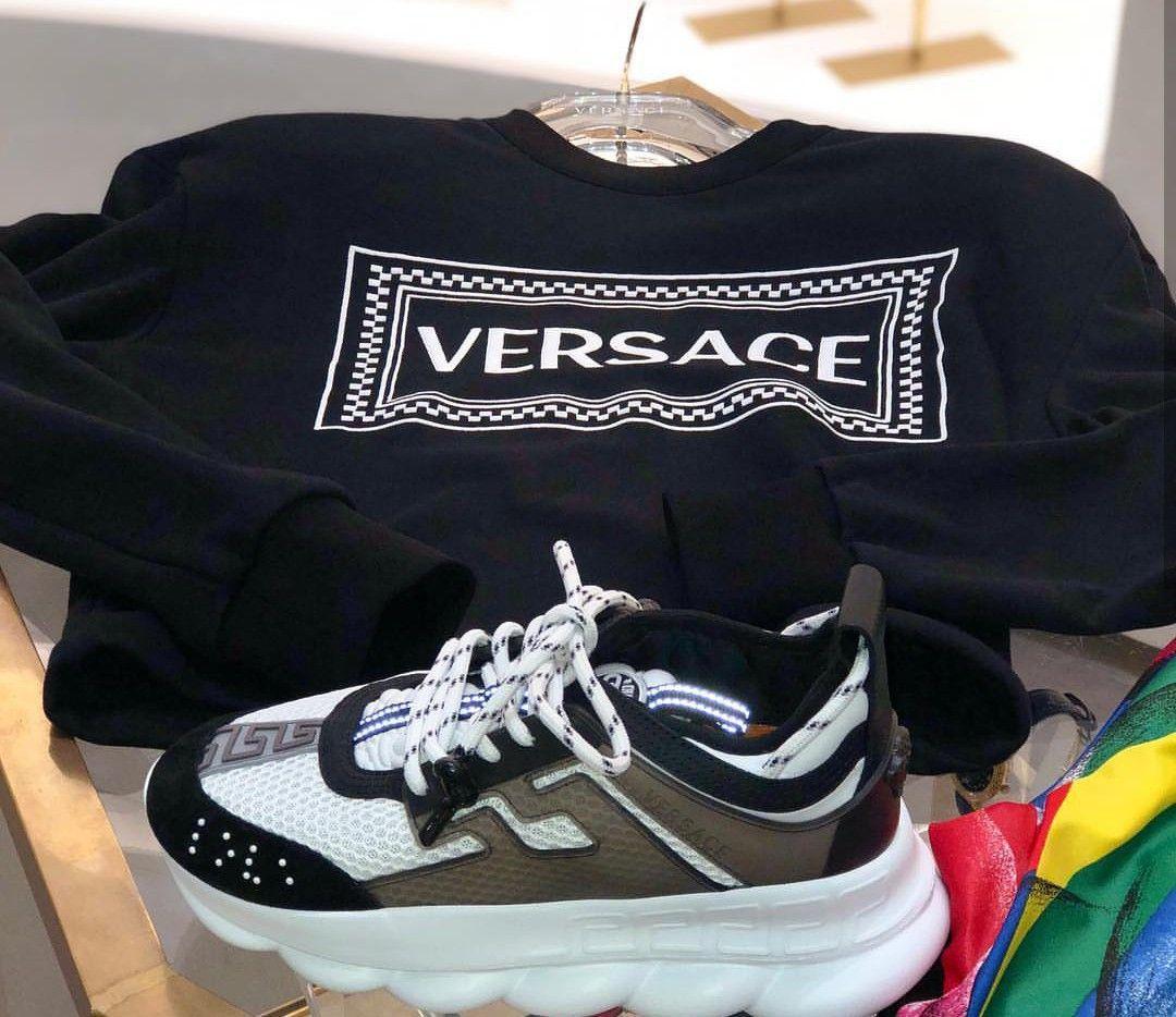 Versace, Air max sneakers, Nike air max