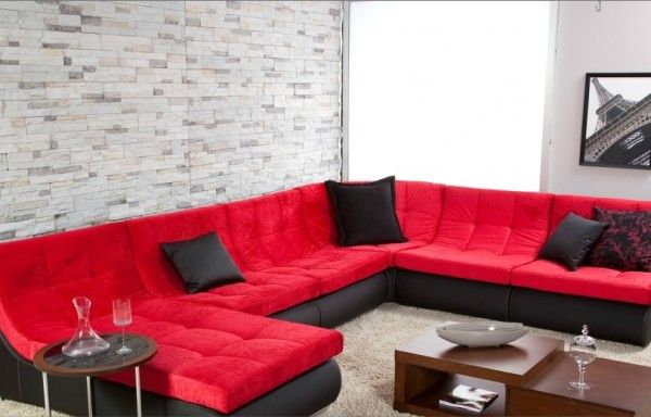 red kose takimi ev dekoru mobilya fikirleri mobilya