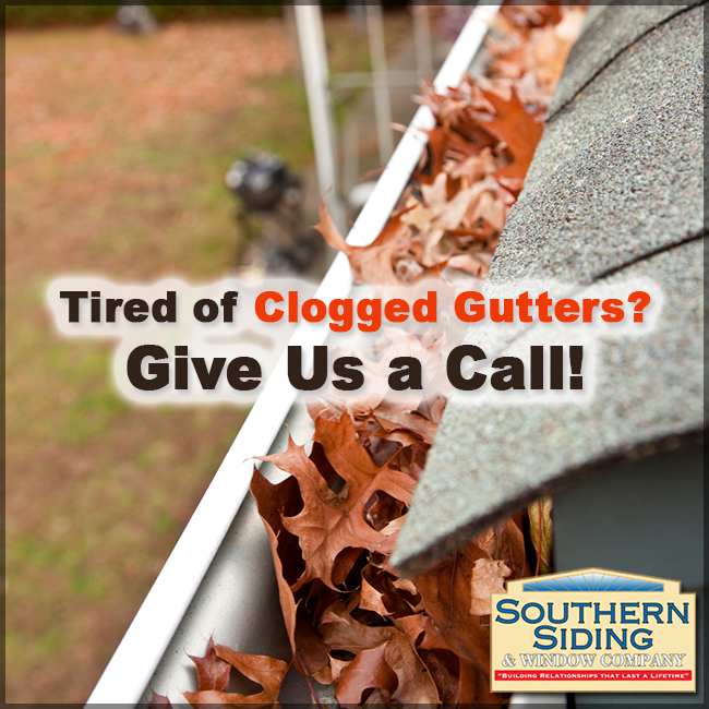 It S That Time Of Year When The Leaves Start Changing Colors And Then Start Falling Down It Is A Beautiful Time Of Year How Clogged Gutter Gutter Guard Gutter