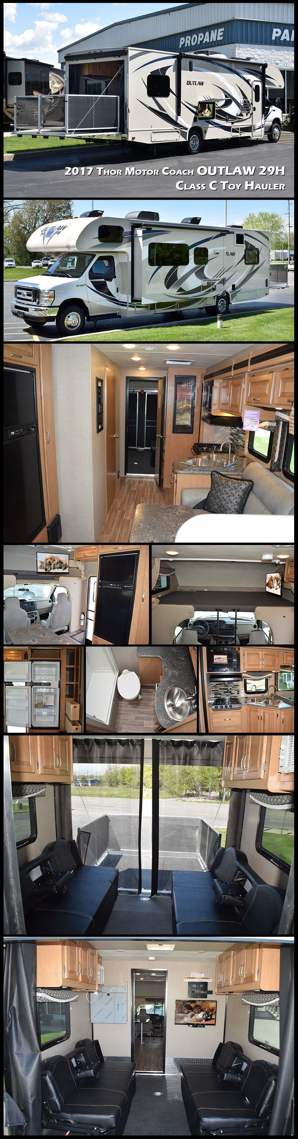 Super c duramax motorhome and toyhauler combo called a fun mover best of both worlds unusual rvs caravans motorhomes pinterest motorhome and