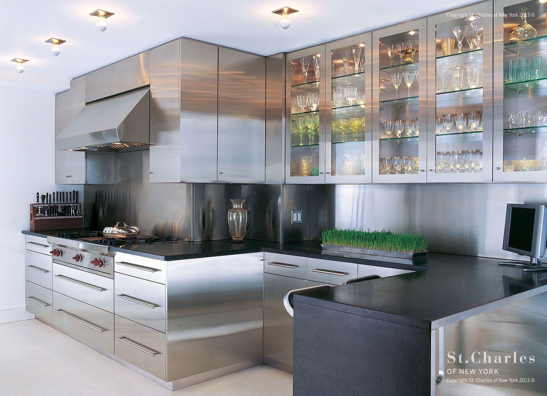 Landmark Building St Charles Of New York Kitchen Cabinet Design Metal Kitchen Cabinets Kitchen Inspiration Design