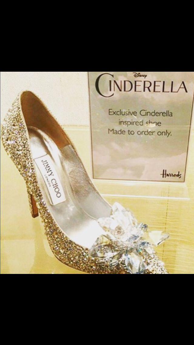 2b9d976f03f Disney Cinderella shoes Harrods Jimmy Choo