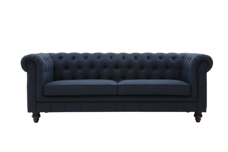 Pleasant George Mason Regale Tufted 3 Seater Sofa Buy Online In Machost Co Dining Chair Design Ideas Machostcouk