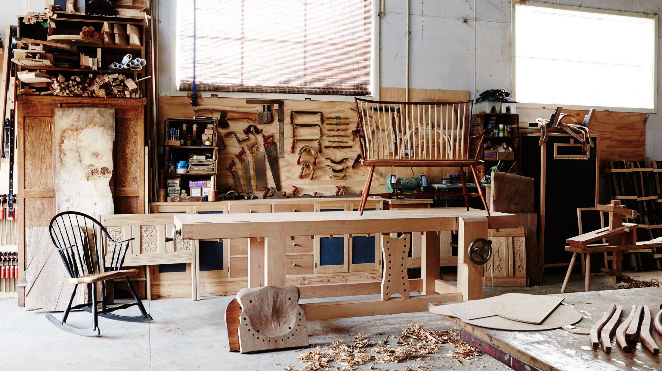 bern chandley   1   woodworking garage, woodworking
