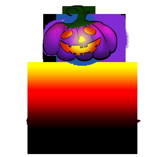 This is FREE Purple Pumpkin Happy Halloween PNG Image ...
