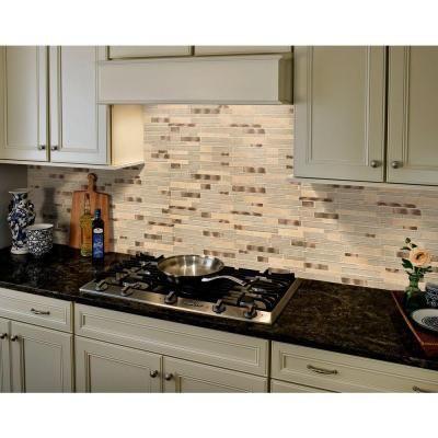 msi champagne toast interlocking 12 in x 12 in x 4mm glass metal rh pinterest com